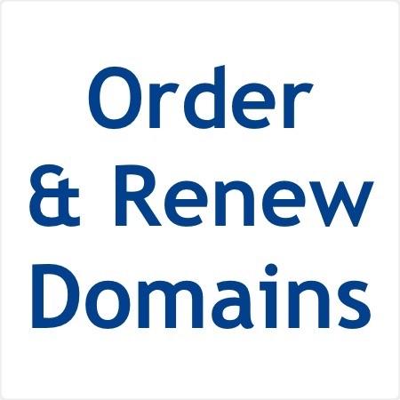 Order & Renew Domains